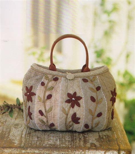 How To Make A Patchwork Quilt Bag - how to make tutorial flower clutch bag handbag purse