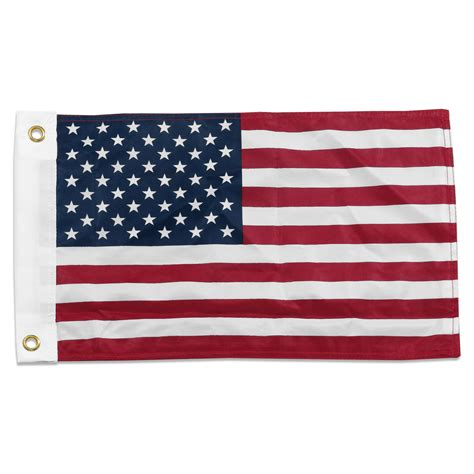 us flag 12 x 18in superknit polyester sided