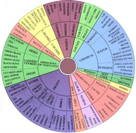 food wheel template twits wine club june 2009