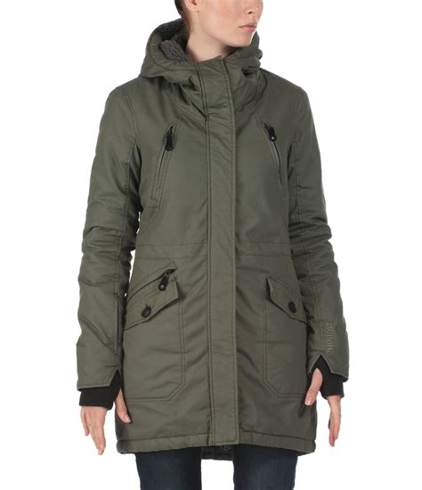 bench ladies parkas bench tara iii parka jacket in brown lyst