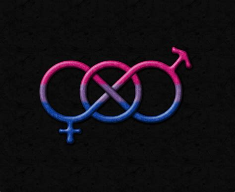 bi colors pride gender knot in pride flag colors click to