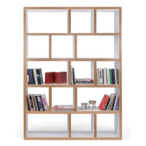 etagere 1 50 m etag 232 re biblioth 232 que berlin 5 niveaux 150 cm blanc bois