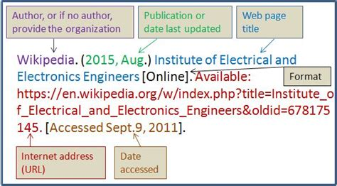 reference book ieee how to write references in ieee format 28 images