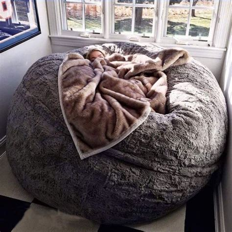 Design Ideas For Fuzzy Bean Bag Chair Fluffy Bean Bag Chair Chairs Seating