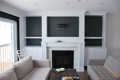 Kitchen Cabinet Cleaning Tips the living room a fireplace built in closet diy fireplaces
