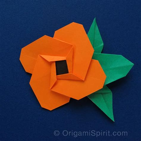 Flat Origami Flowers - flat origami flowers www imgkid the image kid has it