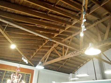 Open Beam Ceilings by Open Beam Ceiling Makes Building Feel Open Picture