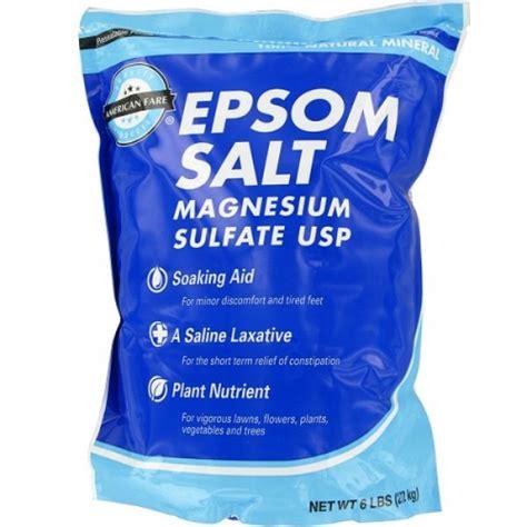 Do Salt Help You Sleep Epsom Salt The Kayaker S Friend