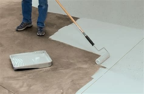 painting a floor how to paint a floor