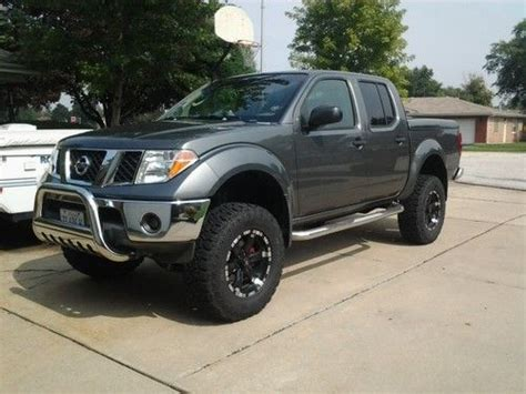 lifted 2006 nissan frontier find used 2006 nissan frontier se lifted road truck