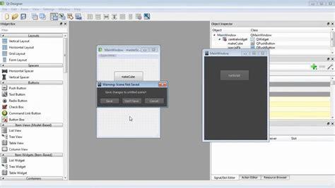 maya qt interface tutorial creating custom user interfaces in maya and qt designer