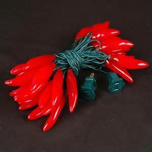 Lights christmas light sale red chili pepper string lights