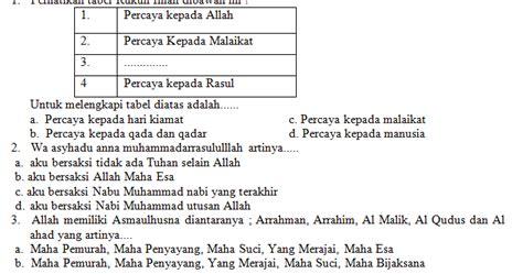 Cerdas Tematik Cermat Kelas 5 Sd Kurikulum 2013 Revisi 2017 kumpulan soal lomba cerdas cermat agama islam tingkat sma sederajat