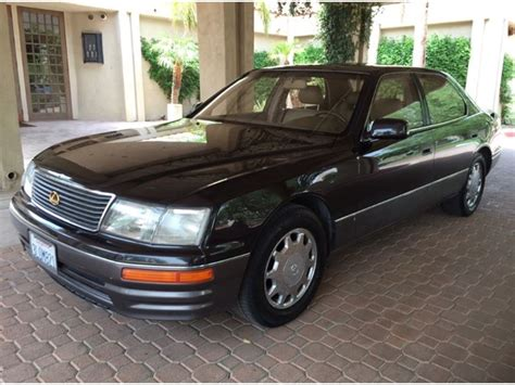 1995 lexus ls 1995 lexus ls 400 for sale by owner in palm desert ca 92261