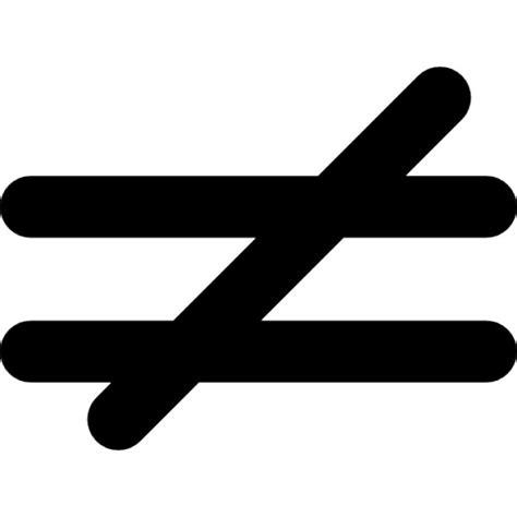 si鑒e free nicht gleich mathematisches symbol der
