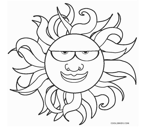 sun coloring page free printable sun coloring pages for cool2bkids
