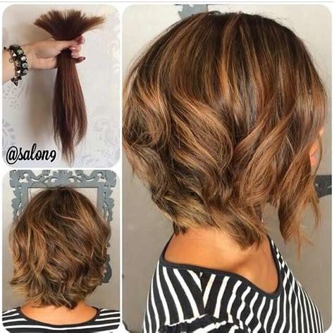 short hair cuts with the colors of carmel brown and highlights les meilleurs mod 232 les coupes et couleurs sur instagram