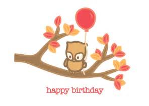 Happy Birthday Geeky Owl Happy Birthday Beth
