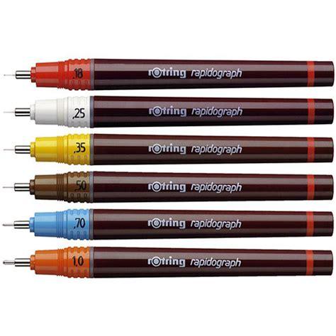 Rotring Isograph Set 0 1 0 3 0 5mm rotring rapidograph pen 0 25mm nib s0194270 huntoffice ie