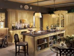 Decorating Kitchen Ideas by Kitchen French Country Kitchen Cabinet Decorating Ideas