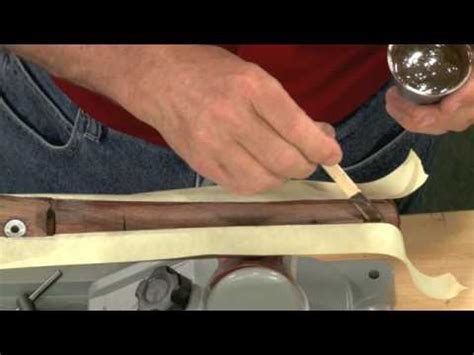 glass bedding gunsmithing how to glass bed a bolt action rifle presented by larry potterfield of