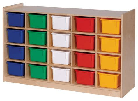 steffywood classroom playroom tray cubicle storage