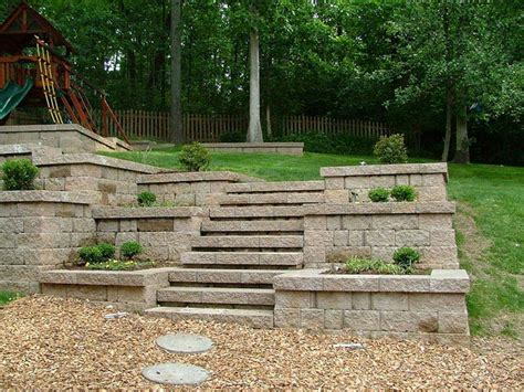 Ideas For Retaining Walls Garden Retaining Wall Design Ideas Corner