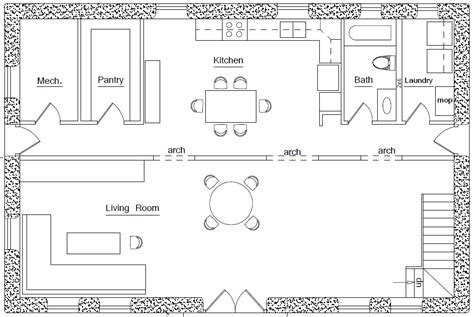 earthba home plan earthbag house plans