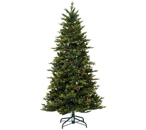 wwwqvccomprelit christmas trees bethlehem lights 9 noble spruce tree w instant power qvc