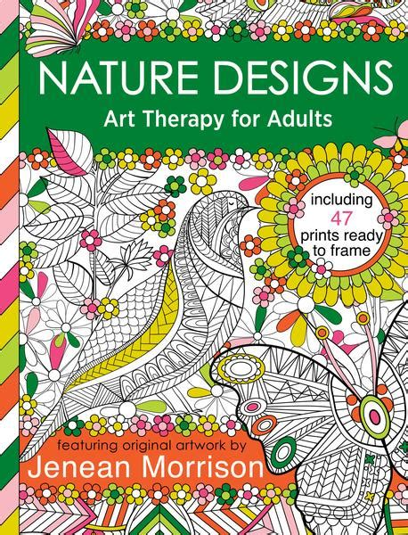design with nature google books nature designs coloring art therapy for adults media