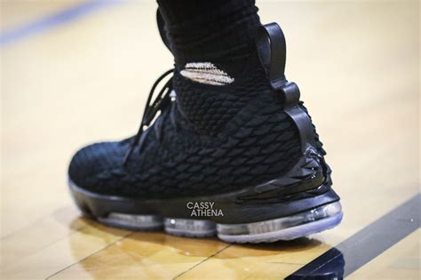 Lebron 15 Black Black there s a black lebron 15 weartesters