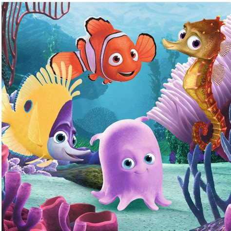 Finding On Finding Nemo Friends Puzzle 4 Pack In 4005556070022