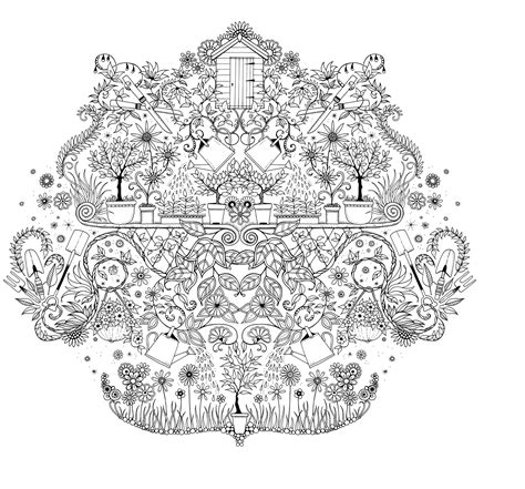 secret garden coloring pages mijn geheime tuin secret garden coloring pages