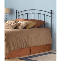 fashion bed sanford size metal headboard with