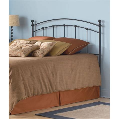 round headboard fashion bed group sanford full size metal headboard with