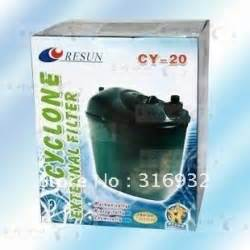 External Filter Resun Cy 20 resun cyclone external filter cy 20 aquarium canister