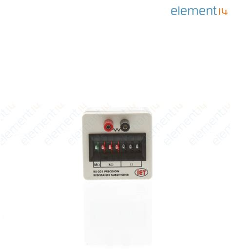 iet resistor box rs 201 iet labs decade box resistance 7 0 ohm to 9 999999mohm 0 1 newark element14