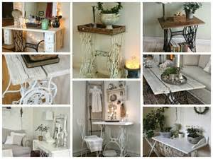 Sew Home Decor Vintage Decorations Ideas With Old Sewing Machines My
