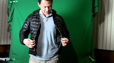 uniqlo ultra light down jacket review uniqlo ultra light down jacket youtube