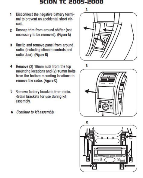 radio wiring diagram for 2007 scion tc 28 images scion