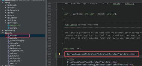 phpstorm laravel php 为phpstorm添加laravel 代码智能提示功能 php 中文社区