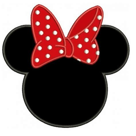 minnie mouse ears template free minnie mouse ears template clipart best