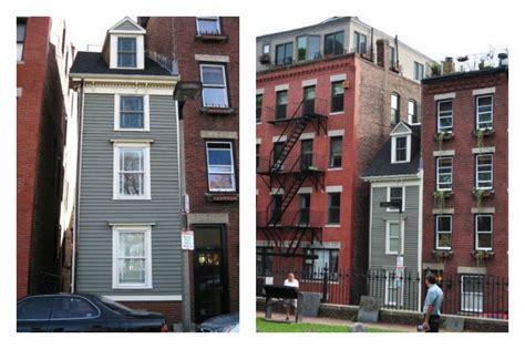 skinny house skinny house la casa pi 249 stretta di boston nata per un