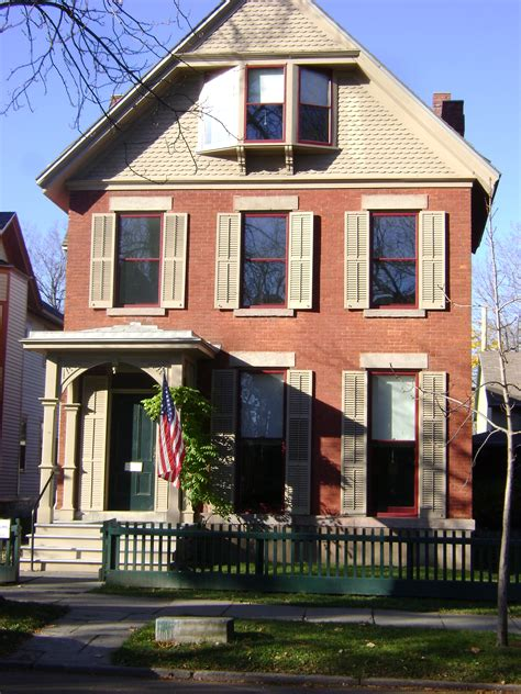 susan b anthony house susan b anthony house rochester ny places spaces pinterest