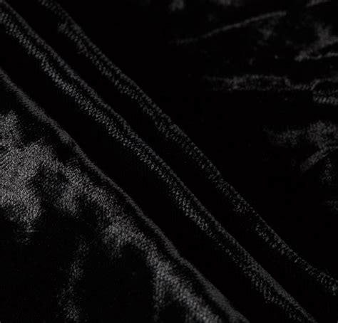 silk velvet black fabric silk fabric