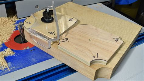 radius woodworking diy radius routing templates jig by crazyrussianwoodshop