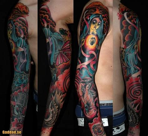 old school tattoo sleeve designs 39 school tattoos on sleeve