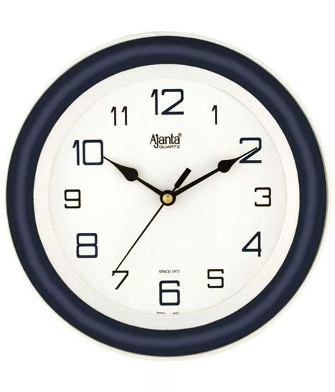 designer wall clocks online india ajanta blue designer wall clock buy ajanta blue designer
