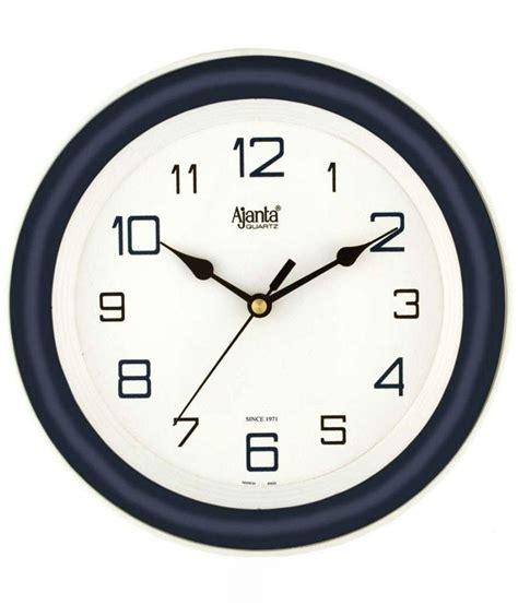 designer clock ajanta blue designer wall clock buy ajanta blue designer