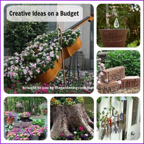 Creative Backyard Ideas On A Budget by Creative Gardening Ideas No Need To Spend A Fortune On These